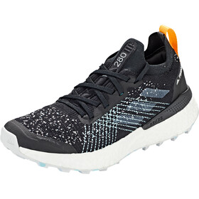 adidas TERREX Two Ultra Parley Chaussures de trail Femme, core black/dash grey/blue spirit